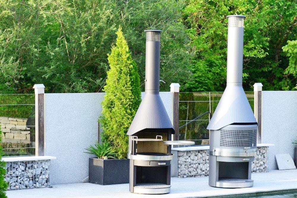 Ein Grillkamin von Topsun ist die ideale Ergänzung für Ihren Garten, Ihre Terrasse oder Ihren Wintergarten